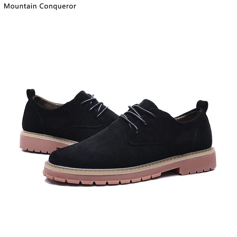 Mountain Conqueror Fashion Brand Men Shoes Flock Casual Male classic Slip On Size 39-44