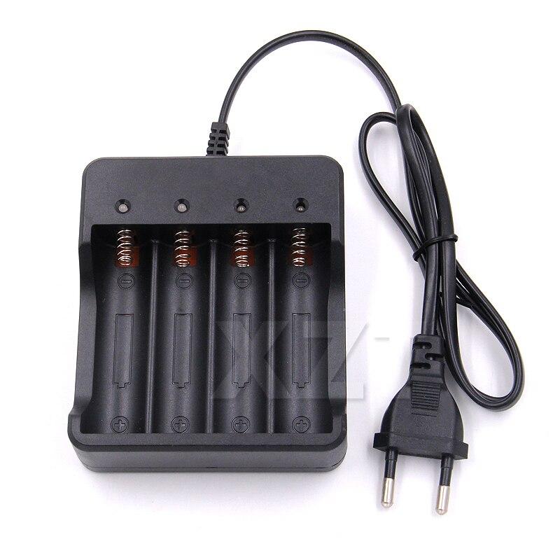 Высококачественное интеллектуальное зарядное устройство с 4 2 1 слотами и защитой от короткого замыкания для литий-ионных перезаряжаемых ба...