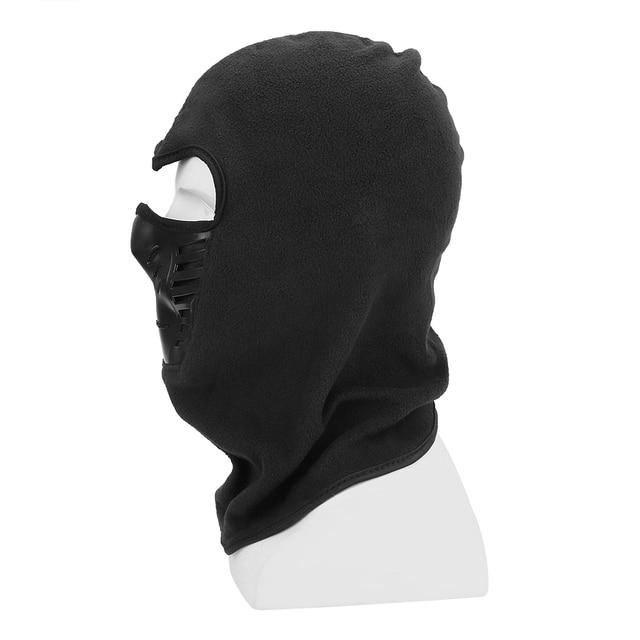 Motorcycle Face Mask Winter Windproof Hiking Cap For Ski Bike Motorcycle  Black Face Neck Warmer Helmet Hat Men Warm Thermal 1