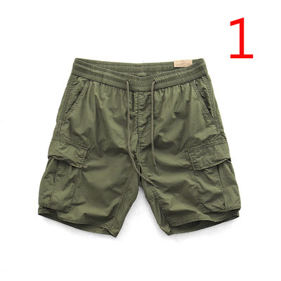 Thin Section Sports And Leisure Shorts Men's American Style Tide Comfortable Loose Straight Camouflage Multi-pocket Tooli