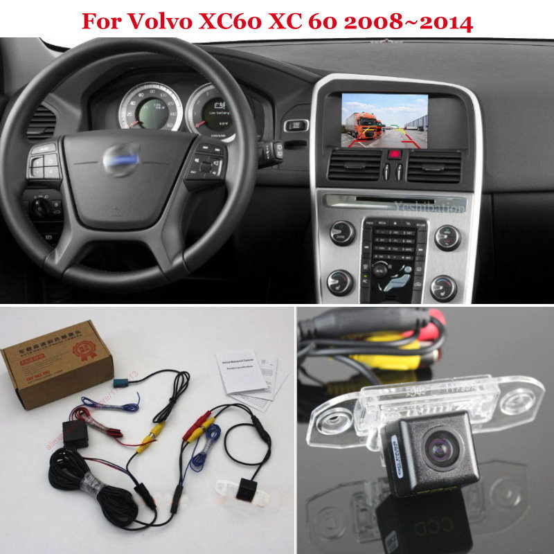 Yeshibation Car Rear View Camera For Volvo XC60 XC 60 2008~2014 - Back Up Reverse Camera RCA & Original Screen Compatible
