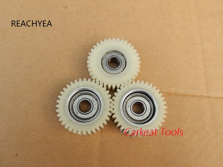 3pcs/set  36Teeths Outer Diameter 38mm Thickness 12mm Electric vehicle bicycle nylon worm gear electric bicycle replacement part|Gears|   - AliExpress