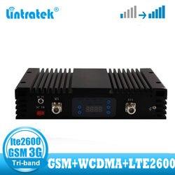 Lintratek o wysokiej mocy GSM 900 WCDMA 2100 LTE 2600 4G sygnał booste GSM 2G 3G 4G wzmacniacz sygnału ALC MGC wzmacniacz