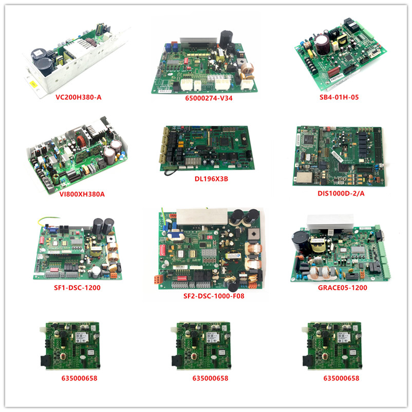 VC200H380-A|65000274-V34|SB4-01H-05|VI800XH380A|DL196X3B|DIS1000D-2/A|SF1-DSC-1200|SF2-DSC-1000-F08|GRACE05-1200|635000658 Used