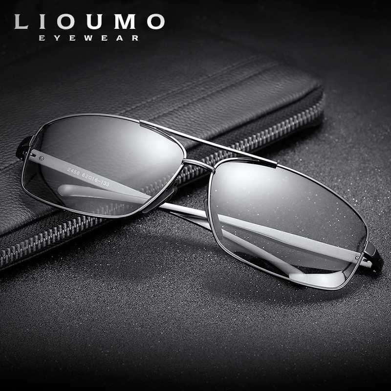 Lioumo Top Photochromic Sunglasses Men Women Polarized Chameleon Glasses Driving Goggles Anti Glare Sun Glasses Zonnebril Heren Men S Sunglasses Aliexpress