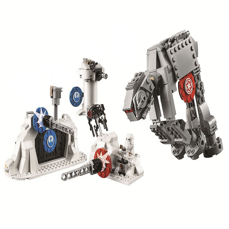 11420 Series Droid Gunship Building Blocks 39Bricks Toys Sets For The Gift Compatible With 75233  - buy with discount