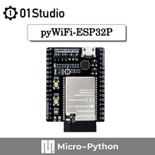 01Studio pyWiFi- ESP32P 8M RAM макетная демо-плата, совместимая с MicroPython WiFi LVGL Prog ram ming Wireless IOT ESP32