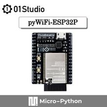 01Studio pyWiFi- ESP32P 8M RAM Development Demo Embedded Board Compatible MicroPython WiFi LVGL Programming Wireless IOT ESP32