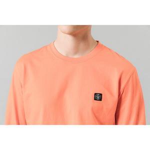 Image 5 - SIMWOOD 2020 bahar yeni uzun kollu t shirt erkekler rahat temel % 100% pamuk tshirt logo rahat üst artı boyutu t shirt SI980594