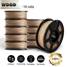 SUNLU WOOD Filament 10KG PLA PETG WOOD ABS 3D Printer Filamen pla Filament 1KG a Roll