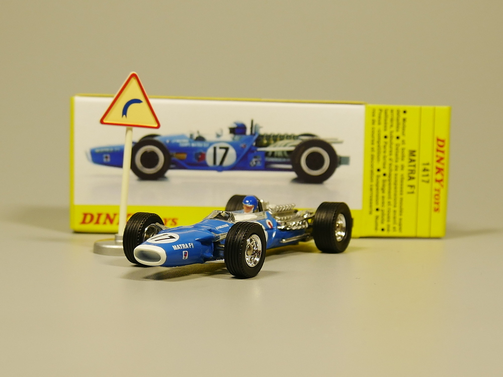 DINKY TOYS 1:43 MATRA F1 Diecast Model Car