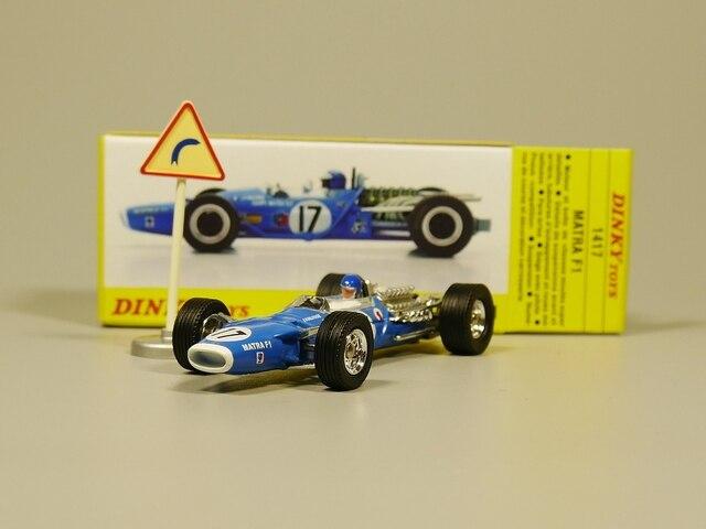 DINKY TOYS 1:43 MATRA F1 литая модель автомобиля