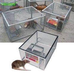 Mousetrap contínuo do agregado familiar grande espaço automático rato cobra armadilha gaiola segura e inofensiva de alta eficiência