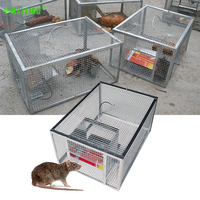 Piège à souris continu pour usage domestique, grand espace, piège à serpent à Rat automatique Cage sûre et inoffensive, à haute efficacité
