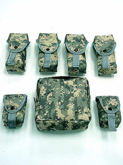 OTV Gilet Tactique Camo combat Corps Armure Avec Pochette/Pad ACU USMC Militaire Airsoft D'assaut Molle Plaque Transporteur CS Vêtements