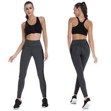 Женские спортивные Капри с высокой талией леггинсы для фитнеса