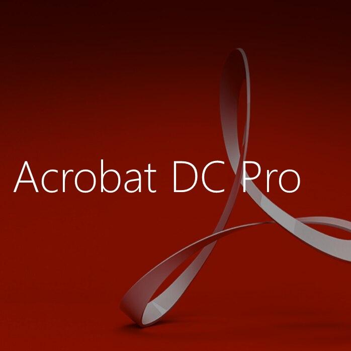Купить acrobat pro dc 2018 pdfs программное обеспечение macos своевременная
