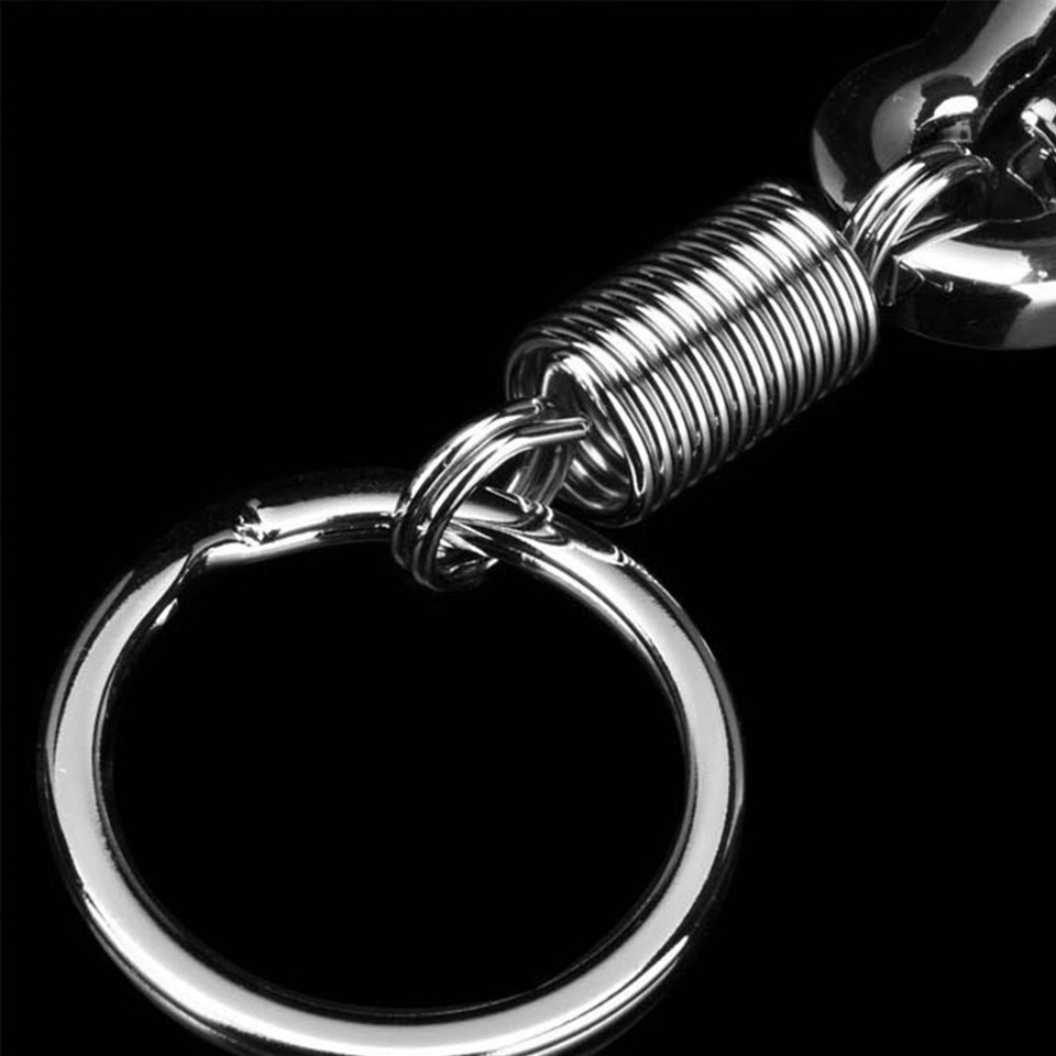 Stainless steel Gourd Buckle carabiner keychain anti-lost buckle retractable EB