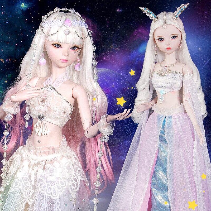 12 Constellations 60cm 1/3 Bjd poupée femme zodiaque articulée poupées Cancer capricorne étoile signe jouet poupée filles jouets cadeau d'anniversaire