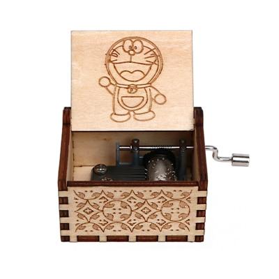 VIP3 деревянный ящик - Цвет: Doraemon