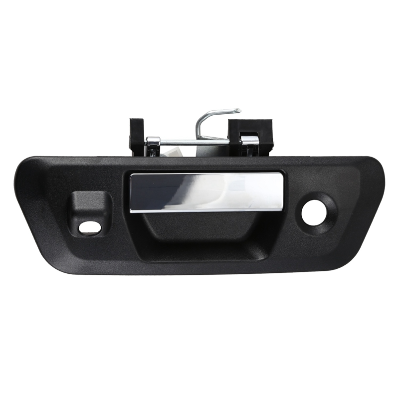 Car Rear Tailgate Handle Durable Rear Door Handle with Camera Key Hole  for Nissan Navara NP300 2014 2015 2016 2017 2018+ 90606 |Exterior Door Handles|   - title=