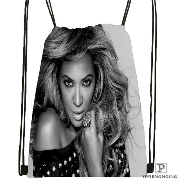 Custom Beyonce @4 Drawstring Backpack Bag For Man Woman Cute Daypack Kids Satchel (Black Back) 31x40cm#20180611-03-142
