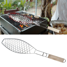 Grill Net Vegetable-Holder-Tools Fish-Barbecue-Accessories BBQ Steak-Meat 1pc