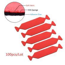 EHDIS 100PCS Vinile Seccatoio Bordo Tessuto Feltro Impermeabile Protezione Tinta Finestra Pulito Strumento In Fibra di Carbonio Film di Avvolgimento Auto Raschietto