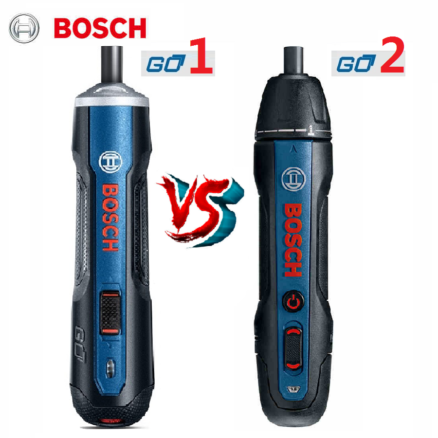 BOSCH GO Mini Electric Screwdriver 3.6V Lithium-ion Battery Rechargeable Cordless  BOSCH Go 2 Electrical Screwdriver Go2