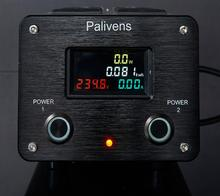 2021 NEW model 2 road switch 3000W 15A Palivens P10 audio dedicated power filter purifier lightning protection plug socket