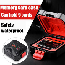 High Quality!Camera Memory Card Storage Water-Resistant Case for SD/Micro SD/TF/CF/XQD Cards Free shipping(China)