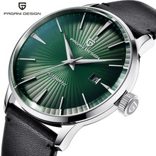 PAGANI Design Brand Men Mechanical Watch Waterproof Leather Business Casual Automatic Date Watch Male Clock relogios masculinos pagani design new high quality mechanical watch men luxury brand leather band automatic business watch male clock dropshipping