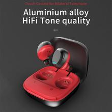 TWS Bluetooth 5.0 Earphones Charging Box Wireless Earphone  9D Stereo Sports Waterproof Earbuds Headsets With Microphone top mini sport bluetooth earphone for lg k4 lte k121 earbuds headsets with microphone wireless earphones