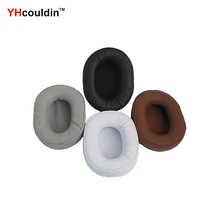 YHcouldin Ear Pads For Sony MDR-ZX750AP MDR-ZX750BN MDR ZX750BN ZX750AP Replacement Headphone Earpad Covers yhcouldin velvet ear pads for sony mdr zx750ap mdr zx750bn mdr zx750bn zx750ap replacement headphone earpad covers