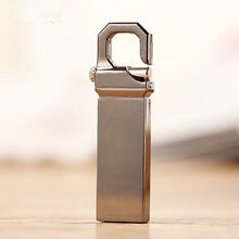 Metal pen drive waterproof usb flash drive 8G 16G 32G 64G 128G pendrive Silver/Golden flash card U disk flash memory stick(China)