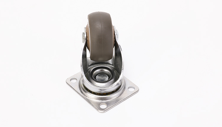 4Pcs Heavy Duty Furniture Mute Soft Rubber Swivel Casters Office Chair Caster Wheels Roller For Platform Trolley Chair-4