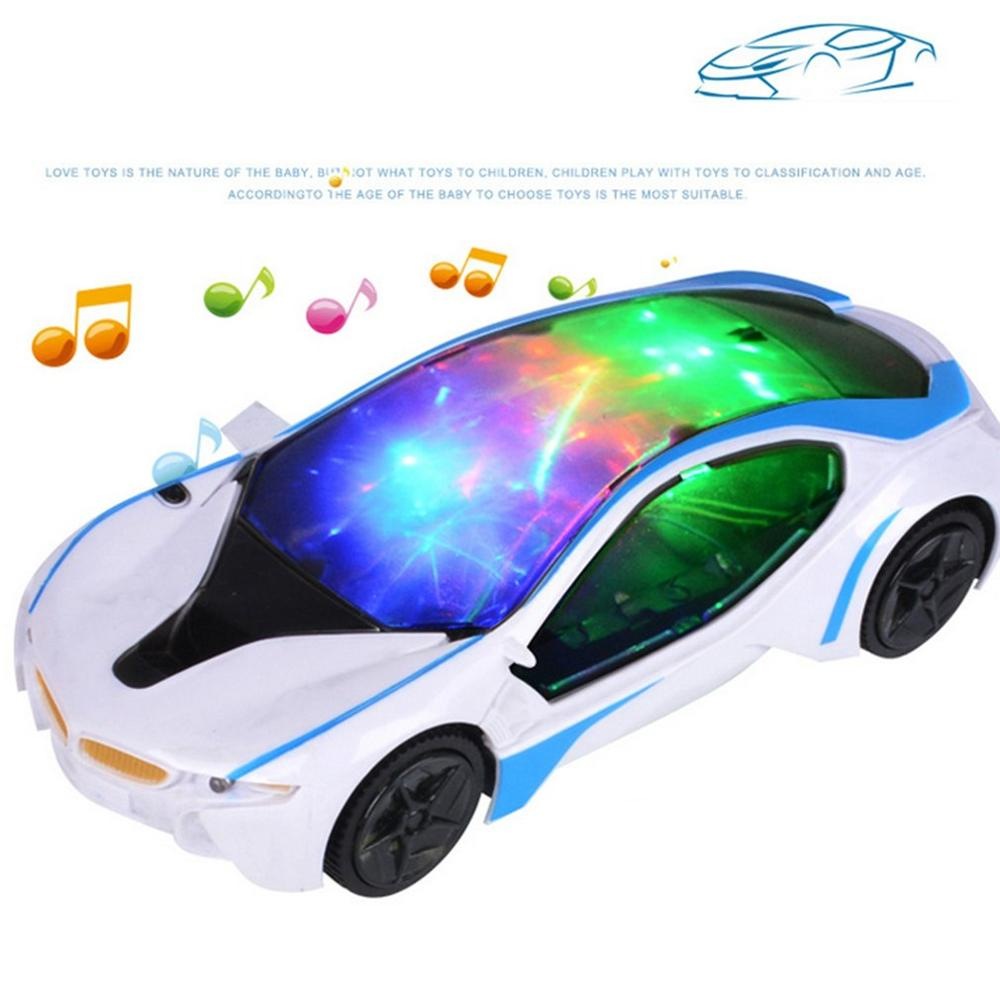 Super Cool Universal LED Light Music Electric Flashing Cars Children Kids  Early Educational Car Toys Best Birthday Gift|RC Cars| - AliExpress