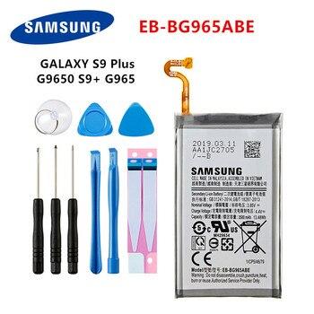SAMSUNG Orginal EB-BG965ABE 3500mAh battery For Samsung Galaxy S9 Plus SM-G965F G965F/DS G965U G965W G9650 S9+ +Tools смартфон samsung galaxy s9 sm g965f 64gb бургунди