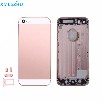 10Pcs High Quality Back Housing cover Battery Cover Rear Door Chassis Frame For iphone 5 SE Repair Parts Free shipping