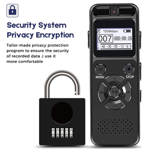 Image 3 - VR520 Secret Digital Audio Voice Recorder 8GB 16GB Professional Portable Recorder MP3 For Business Support Up to 64G TF Card