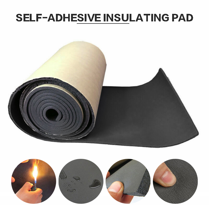 50x300cm Self-adhesive Car Sound Heat Insulation Mat Proofing Deadening Noise Insulation Car Floor Pad For Autos Accessory