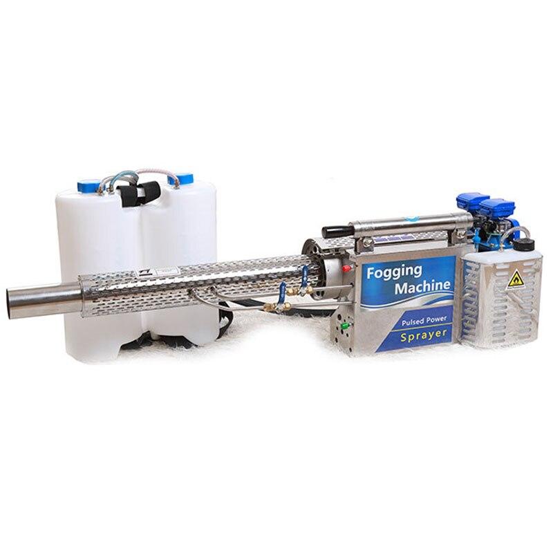 Portable Thermal Fogger Machine Disinfection Fogging ULV Sprayer Termonebulizador Zamglawiacz Water Spray With CE (Model 120)