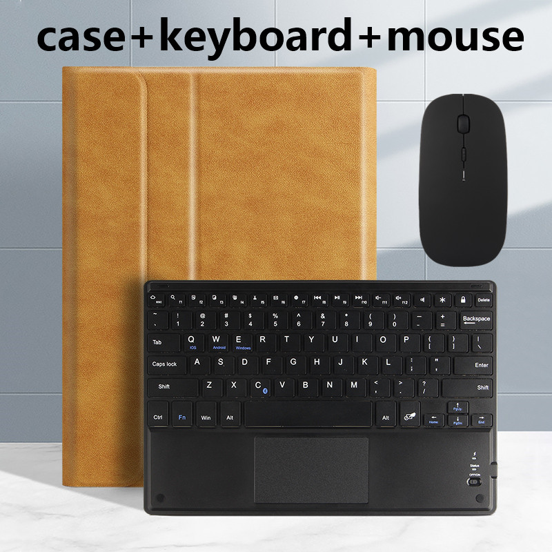brown Yellow Smart case For iPad Pro 11 2020 2018 A2228 A2068 A2230 Tablet Slim Bluetooth Keyboard Case