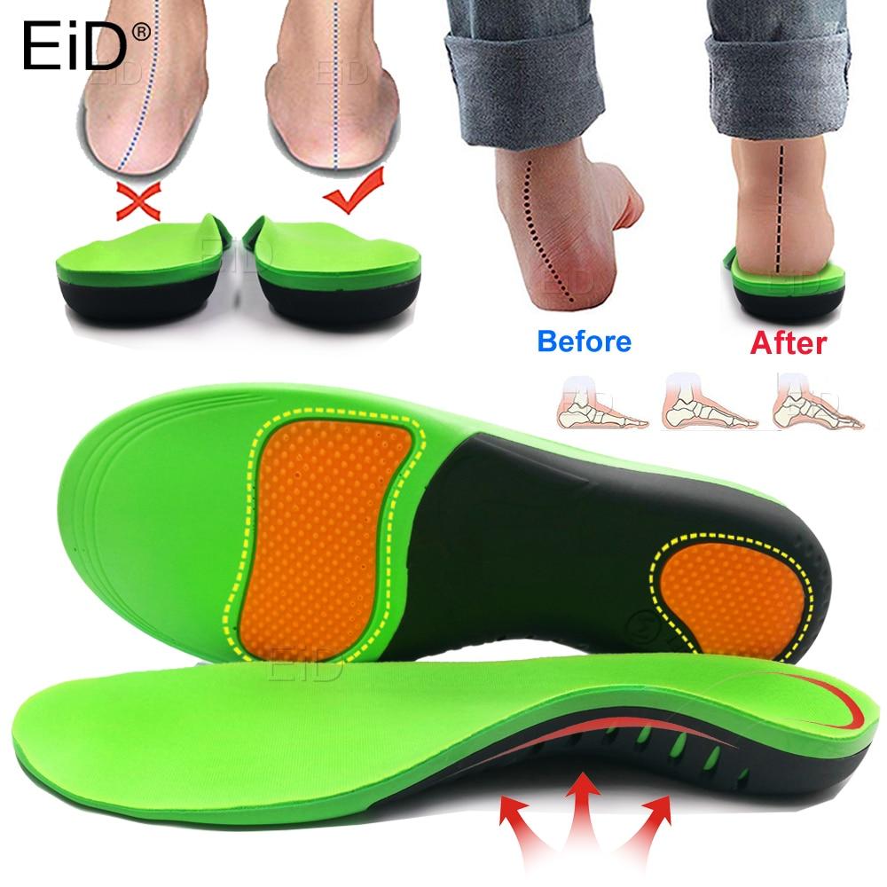 Лучшая ортопедическая обувь EVA стельки для ног Arch Foot Pad X/O тип ноги коррекция Плоская стопа Арка Поддержка спортивной обуви вставка