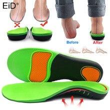 Meilleures semelles orthopédiques EVA pour arc de pied, coussin de Correction de jambe de Type X/O, Support d'arc de pied plat, insertion de chaussures de sport