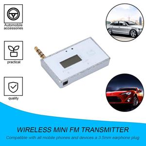 High Quality Wireless Mini FM Transmitter Car MP3 Player Display Music Audio For Mobile Phones Tablet PC MP3 Player Receiver