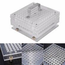 100/200 otworów instrukcja Capsule Powder Maker #0 #00 #000 #1 #2 #3 #4 #5 Pharmaceutical Filler Plate Machine rozmiar 0,00,000,1,2,3,4,5