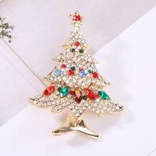 Хрустальный Рождественский яркий подарок на Новый год полная