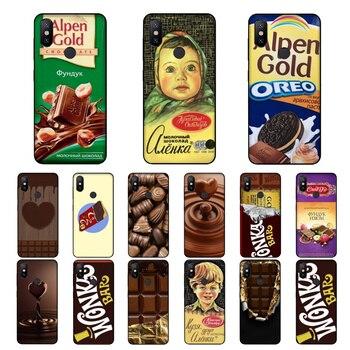 Перейти на Алиэкспресс и купить NBDRUICAI Аленка с изображением шоколада wonka бар высокое качество чехол для телефона для Xiaomi 8 9 se 5X Redmi 6pro 6A 4X7 5 plus, note 5, 7 6pro