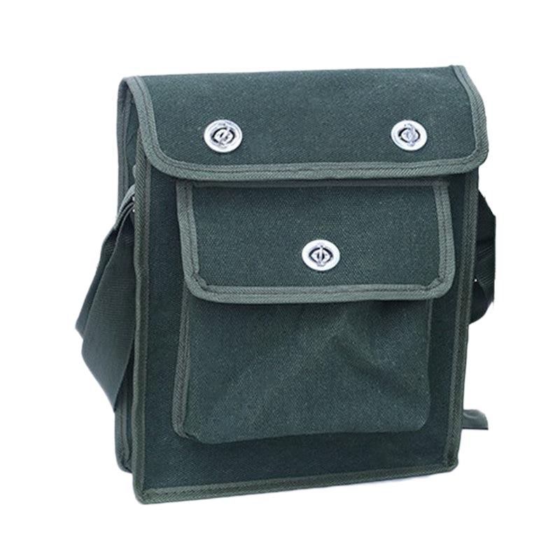 ELEG-5 Size Satchel Screwdriver Utility Kit Holder Storage Fabric Tool Bag Electrician Pocket Tool Belt Pouch Bag
